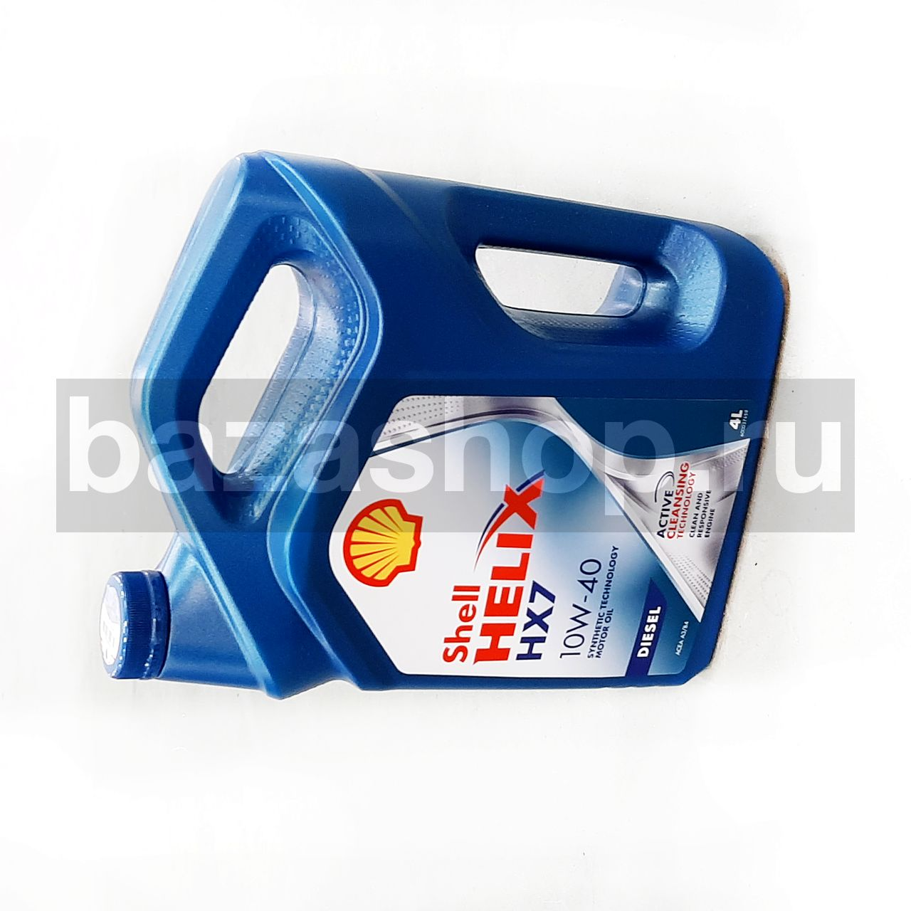 Масло  SHELL/Helix Diesel HX7 10W/40 (4л) / МАСЛО SHELL/Helix Diesel HX7 10W/40 (4л)