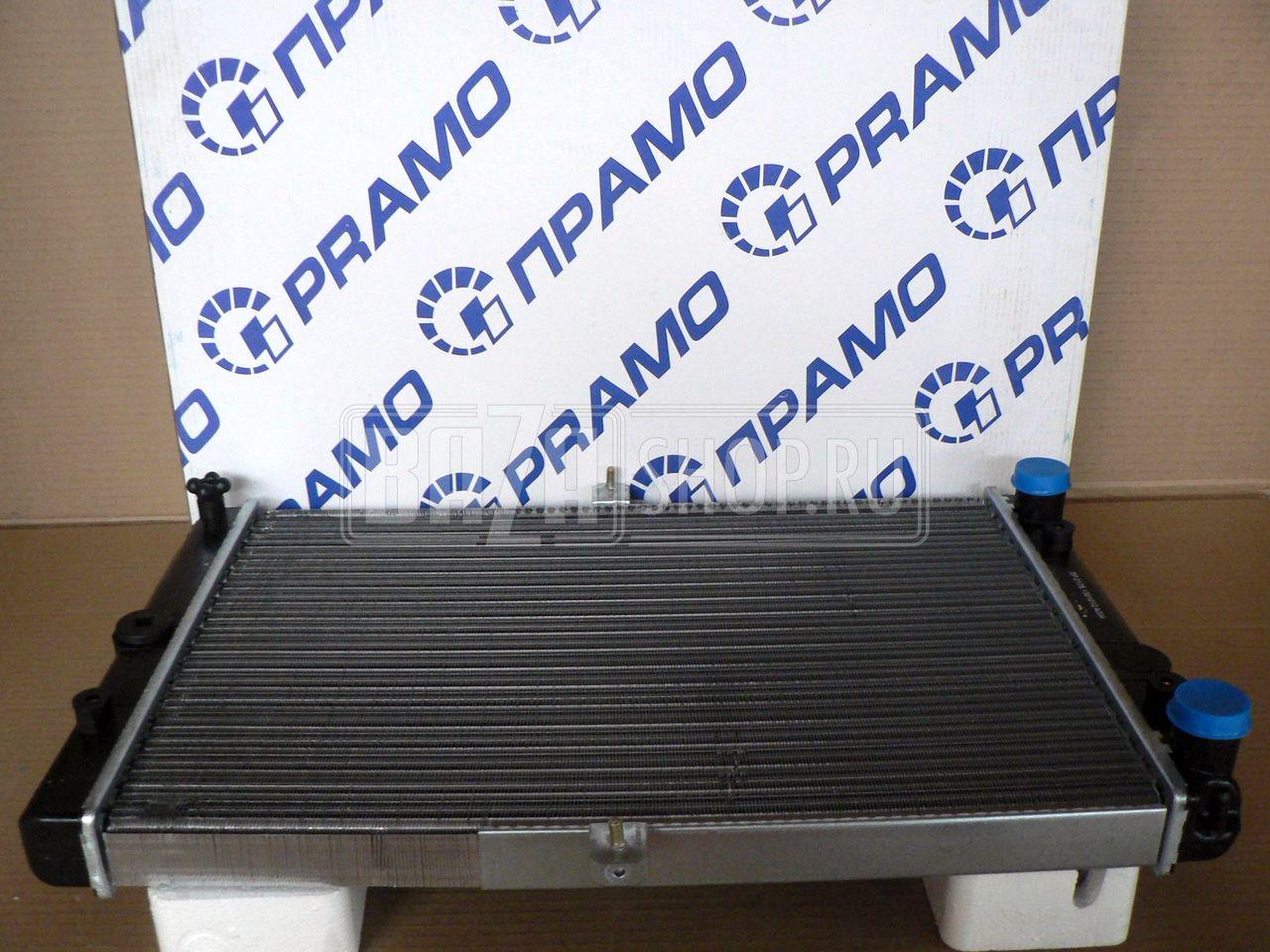 Радиатор охлаждения двигателя на ваз 21099