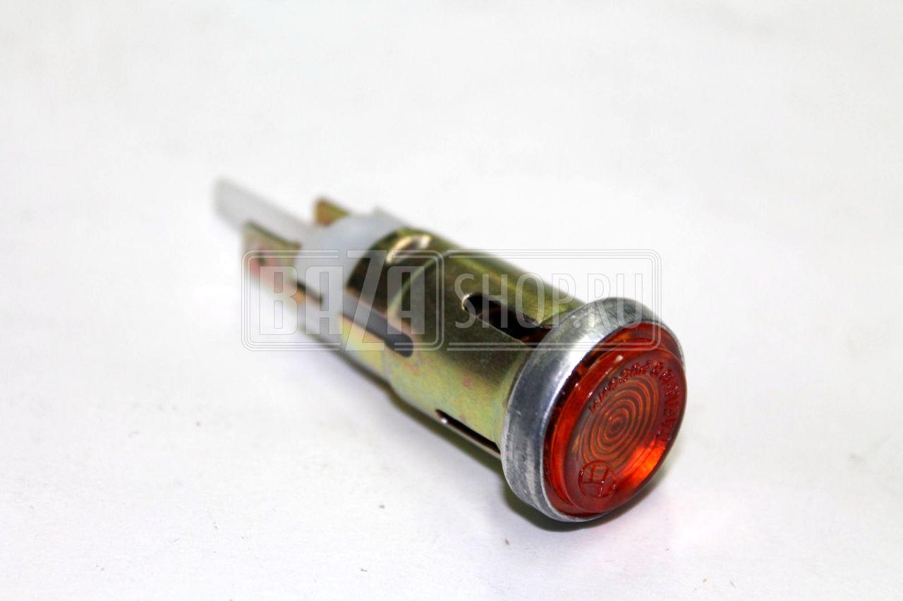 Глазок УАЗ контрольная лампа ОРАНЖЕВЫЙ В купить  Глазок УАЗ 469 452 контрольная лампа ОРАНЖЕВЫЙ 12В 3741