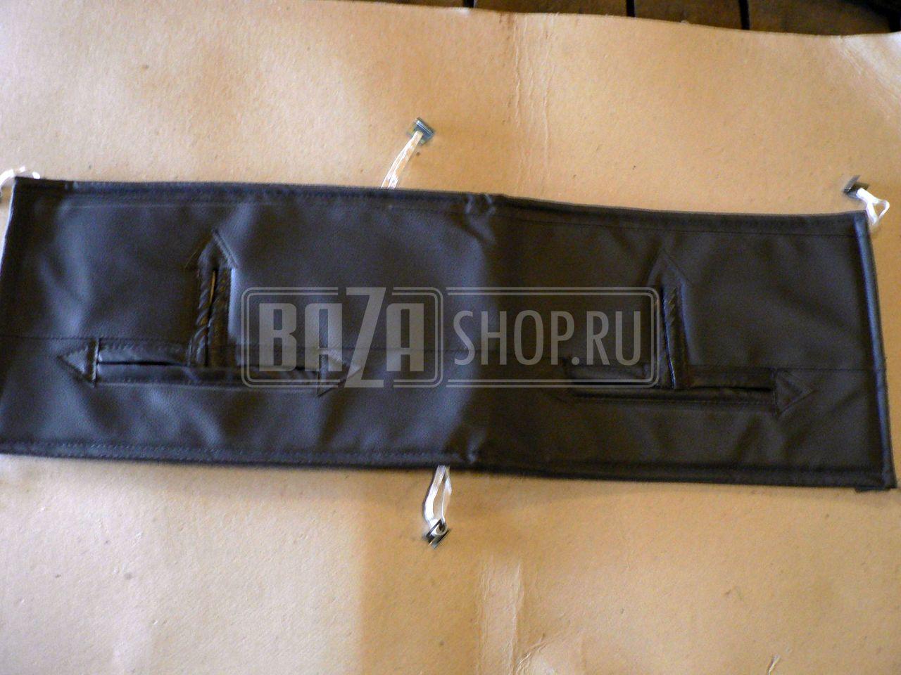 Утеплитель радиатора УАЗ HUNTER (в/кожа, поролон, ватин)
