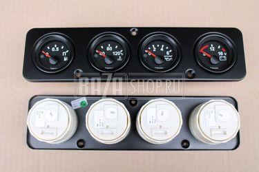 20892 - Уаз 469 приборная панель